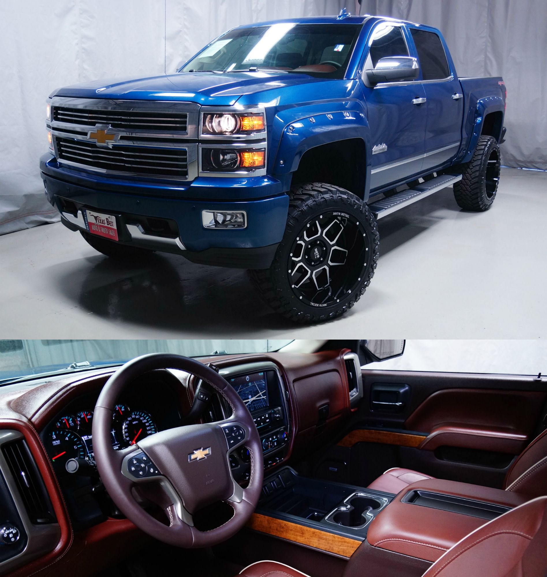 Custom Lifted 2015 Chevrolet Silverado 1500 Highcountry New 6