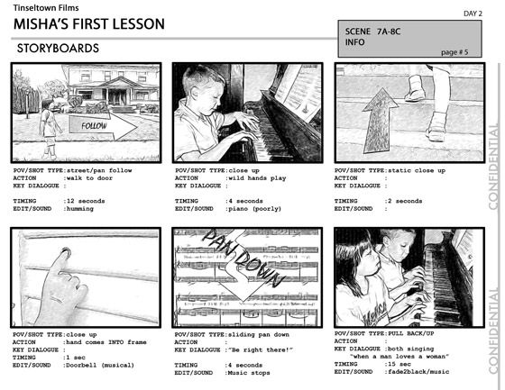 Final Storyboard Mock-Up Page storyboards Pinterest Storyboard - digital storyboard templates