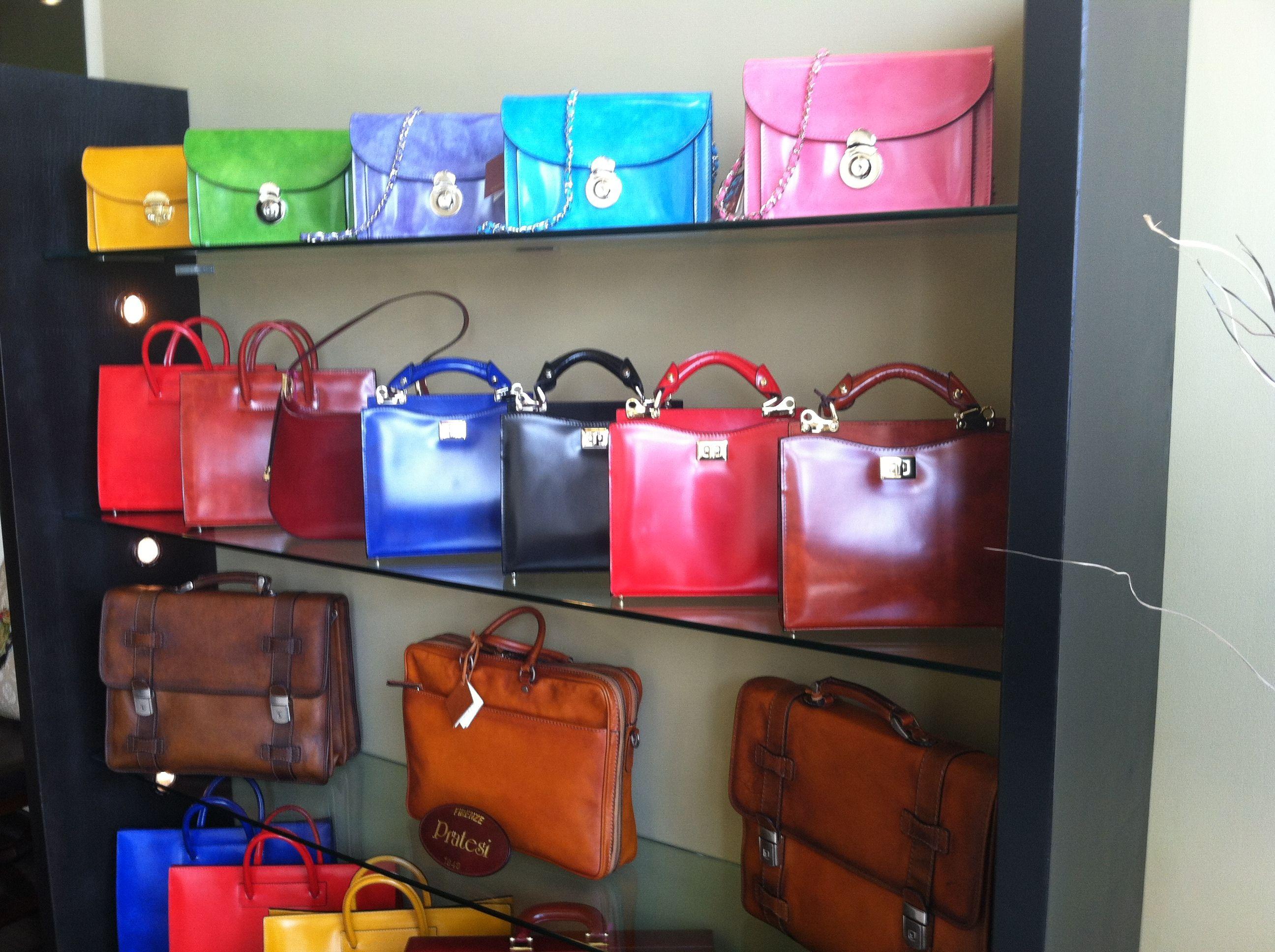 Pratesi Rainbow at Florence Shop!! Pretty pretty.