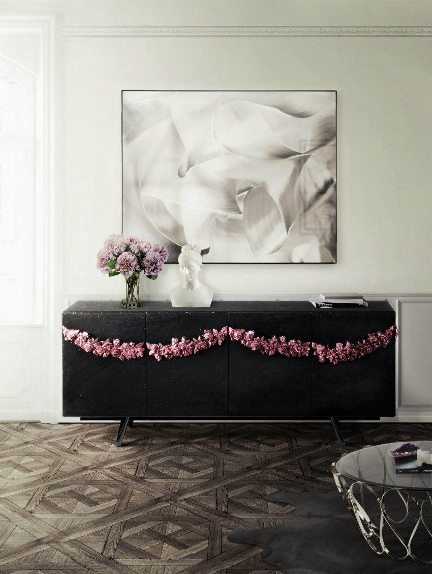 exklusive deko fur wohnzimmer, moderne anrichten, die funktionalität und luxus design verbinden, Design ideen
