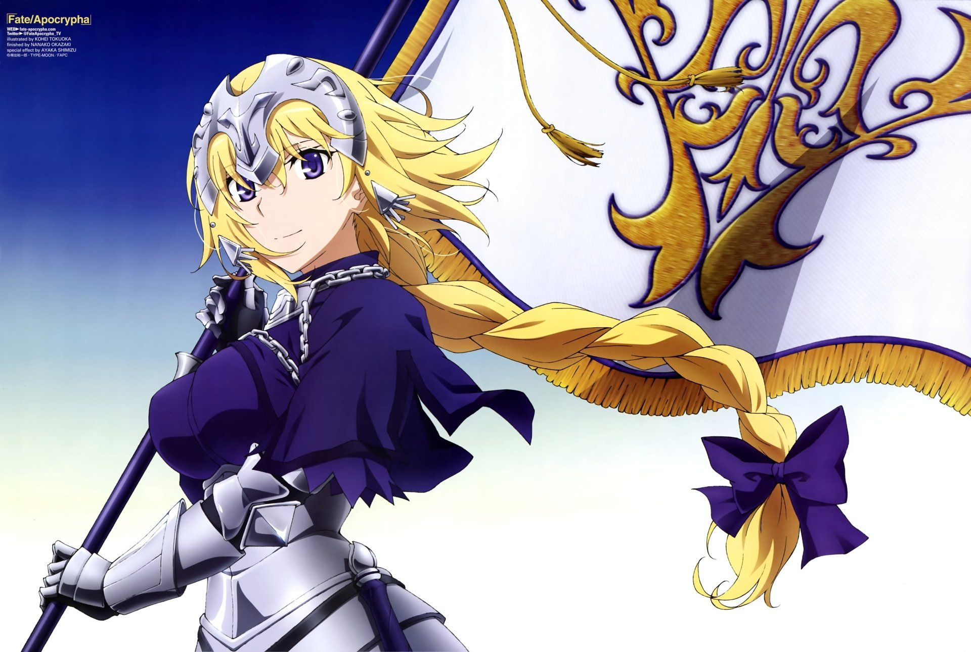 Anime Fateapocrypha Ruler Fateapocrypha Wallpaper Fate