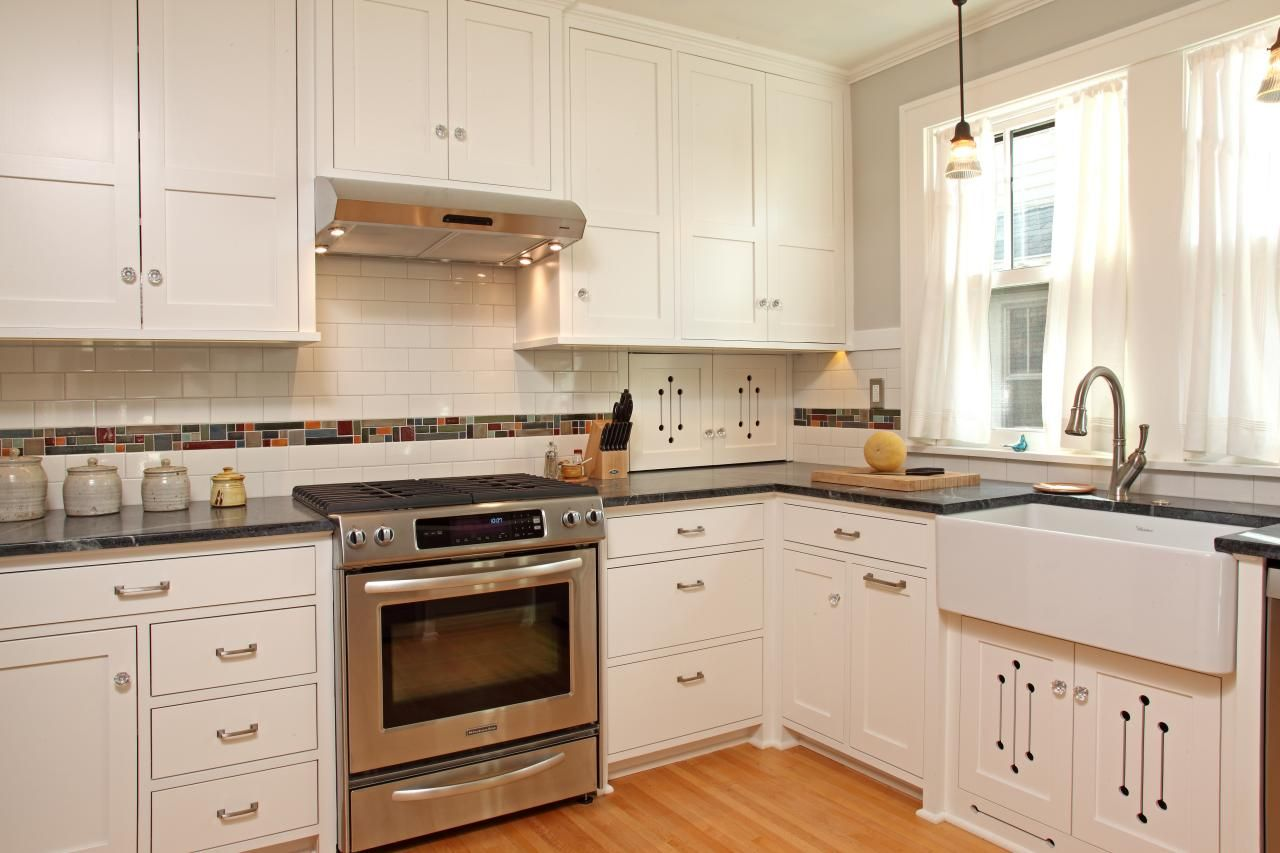 Awesome Tile Backsplash Kitchen White Cabinets
