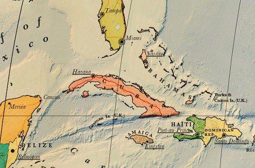 Carte touristique de Cuba à télécharger | Noobvoyage.fr | Cuba