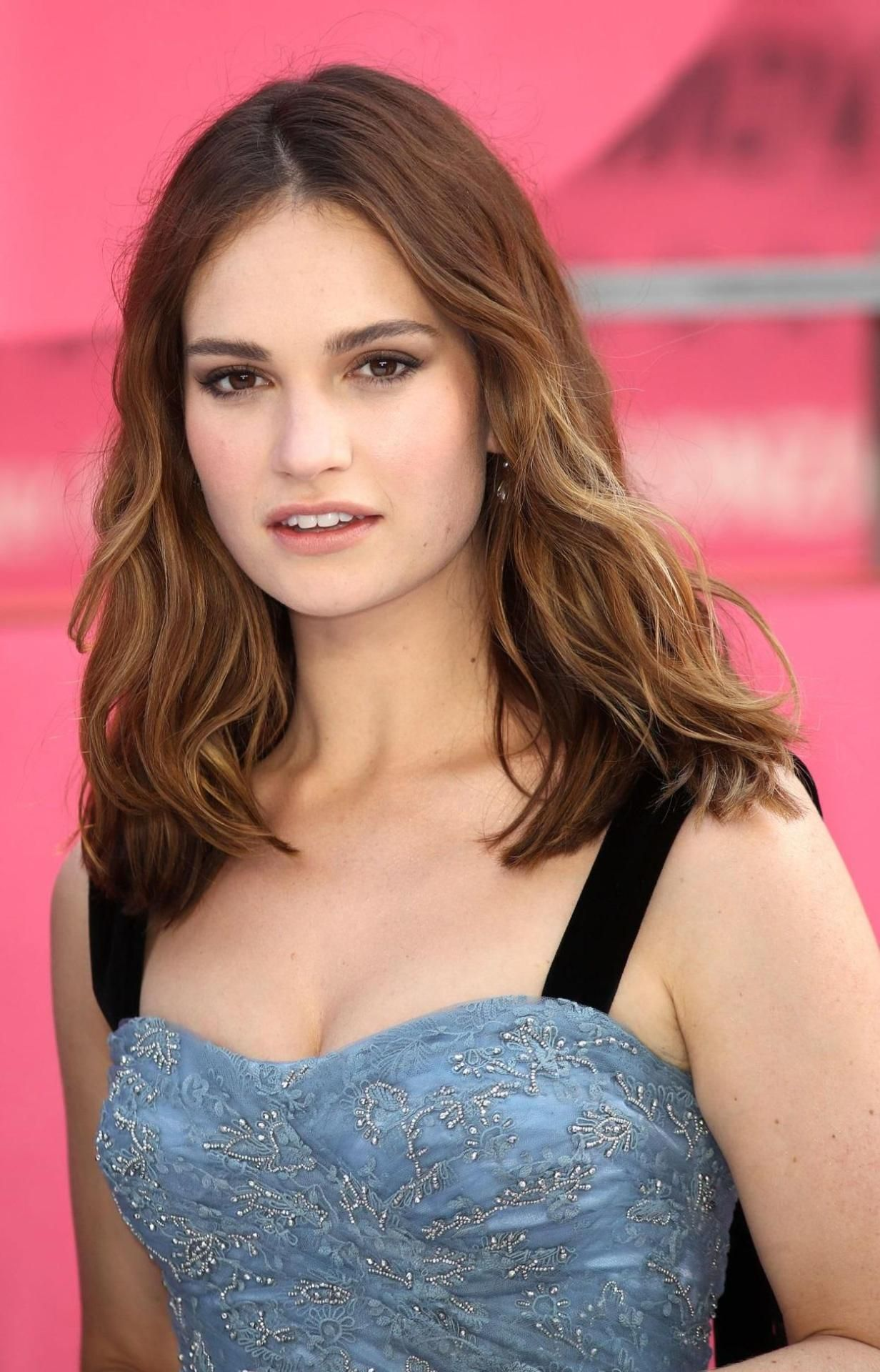 Lily James Actress Lily James Brunette Actresses Pretty Brunette