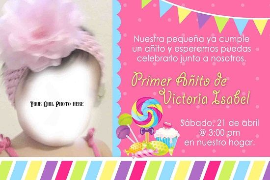Spanish Birthday Invitations Ideas For Anna
