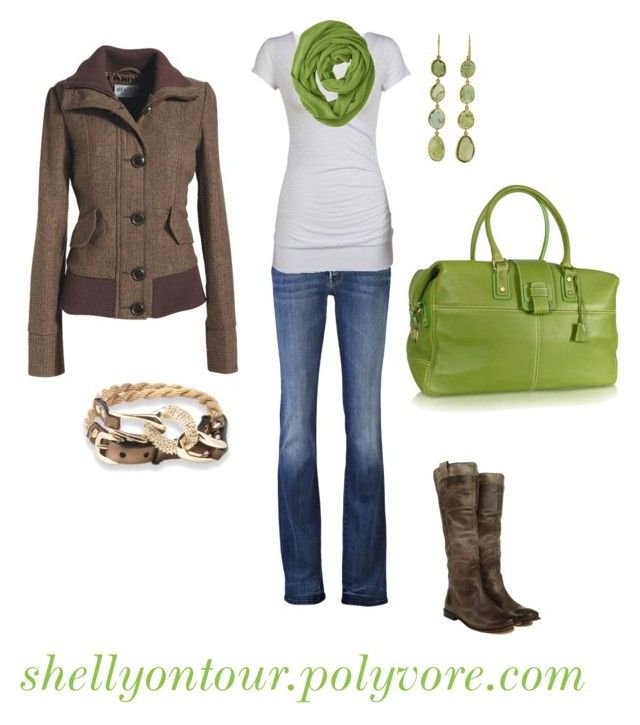 """""""Outfit"""" by shellyontour ❤ liked on Polyvore featuring Mother, Moreschi, Pippa Small, Marc and Frye"""