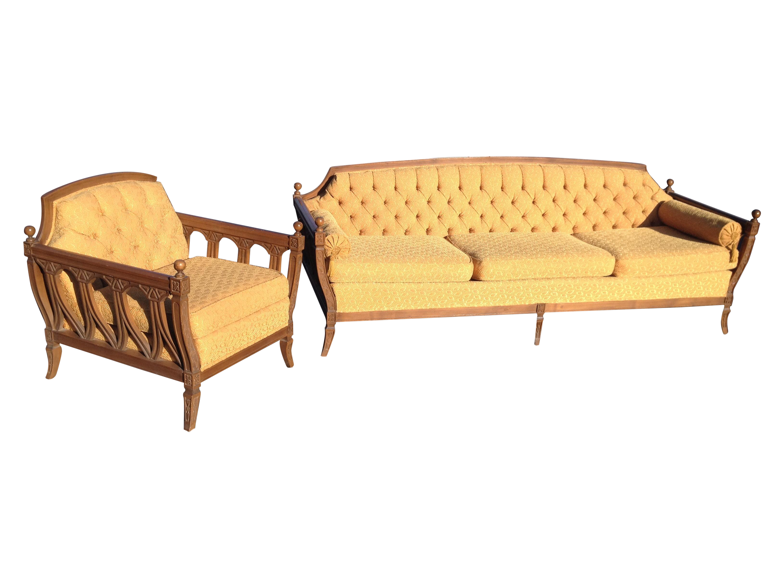 Vintage Hausske Harlen Tufted Sofa Hausske Furniture