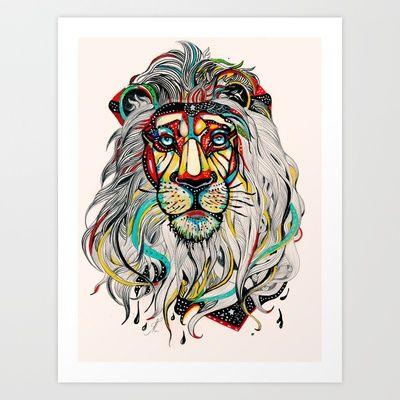 Leo  Art Print by Felicia Atanasiu - $18.00