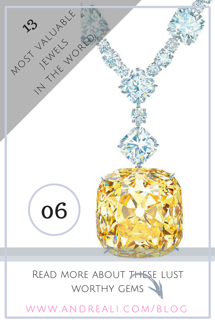 7bc165d2c 13 Of The Most Valuable Jewels In the World - 6th The Tiffany Diamond