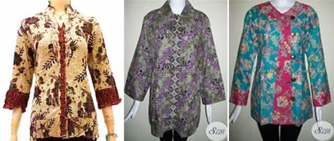 Model Baju Kerja Batik Untuk Orang Gemuk Fashion Tops Women