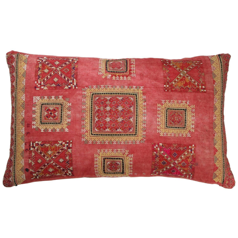 Antique Sindhi Floor Pillow | Floor pillows and Pillows