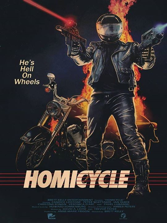 New Official 'Homicycle' Trailer Inside