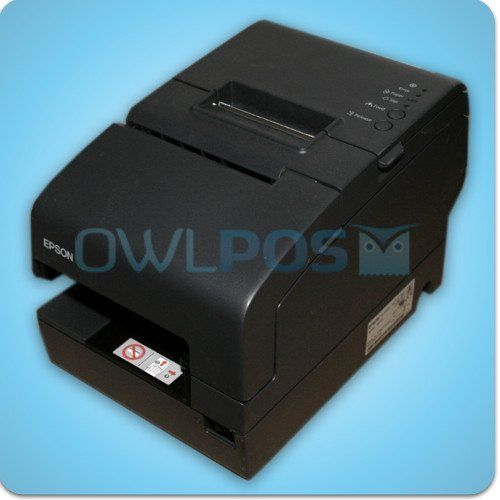 Epson Tm H6000iv Multifunction Receipt Printer Model M253a Micr Printer Epson Model