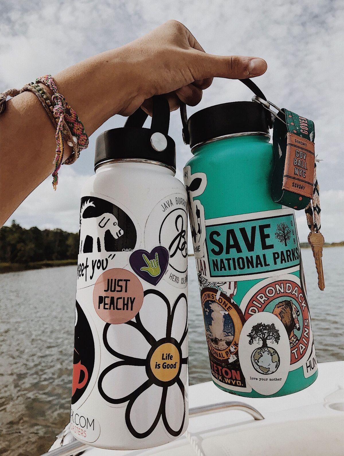 Aesthetic Water Bottle Stickers