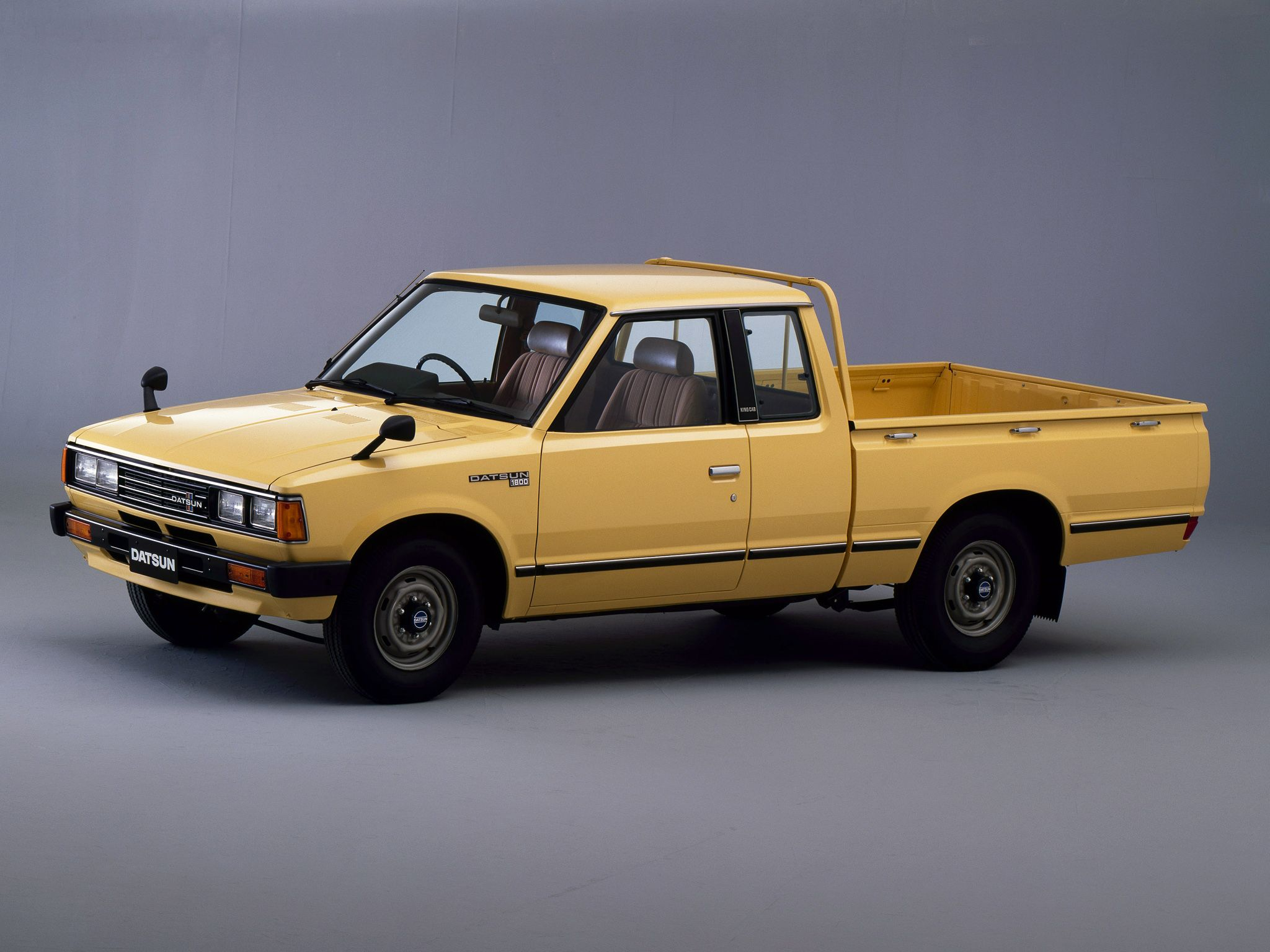 1979-85 Datsun Pickup King Cab mine is red, is a great ...