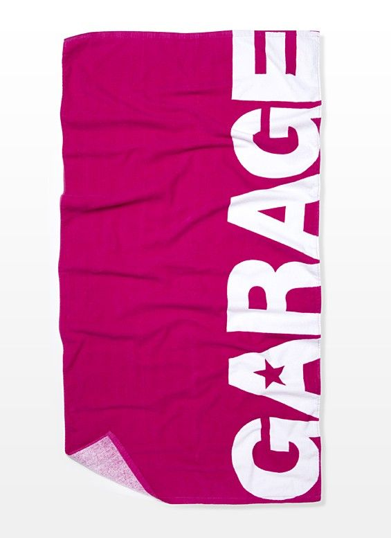 2. Matching Accessories - Can't forget a cute matching towel from Garage! #PassportToFashion @Mapleview Centre (source: www.shopgarageonline.com)
