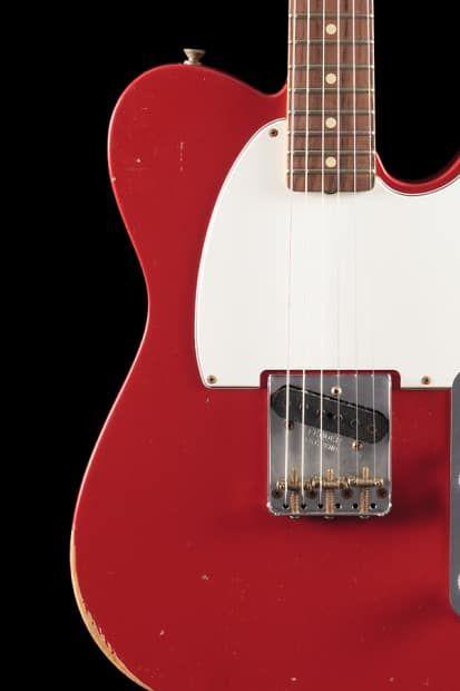 Fender Custom Shop 1959 Esquire Relic Dakota Red 431 Willcutt Guitars Reverb Fender Custom Shop Esquire Custom