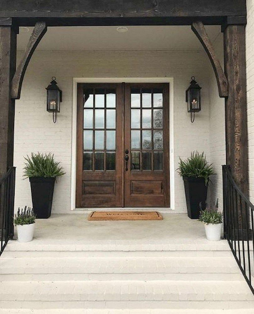 43 Modern Farmhouse Front Porch Decor Ideas 3 With Images