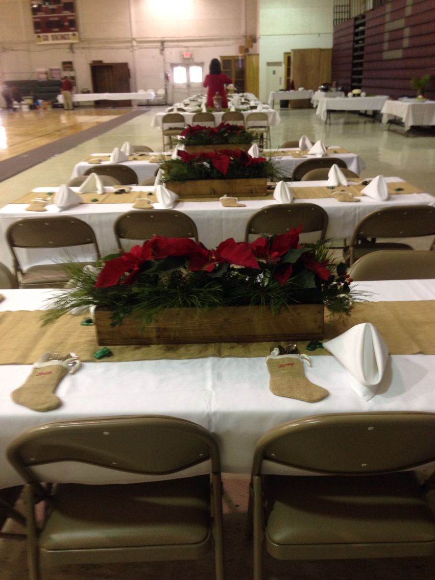 Fresh Luncheon Table Decorations