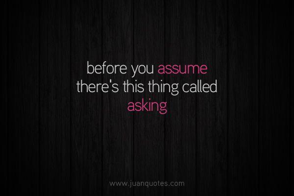 Assuming Quotes Tagalog Assuming Quotes Tagalog