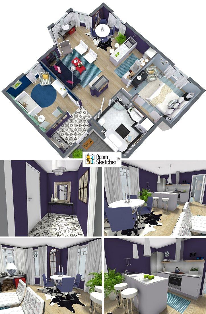 Casa Designer 3d Home Makeover App For Ipad: Pin De RoomSketcher Em Get Interior Design Inspired! Em