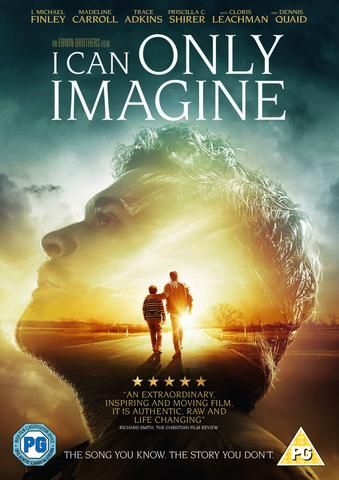 I Can Only Imagine Dvd Inspirational Movies Christian Movies