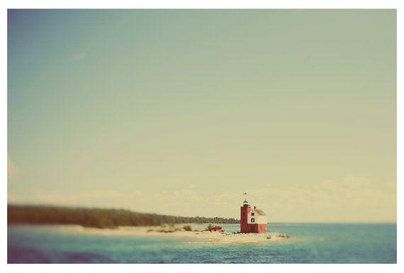 Landscape Photograph Michigan Photography Mackinac by AliciaBock ...
