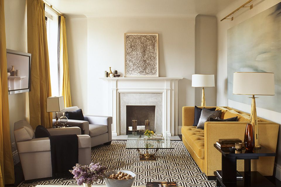 9 Rooms with Glittering Gold Accents Family