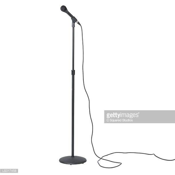 Image result for microphone on stand