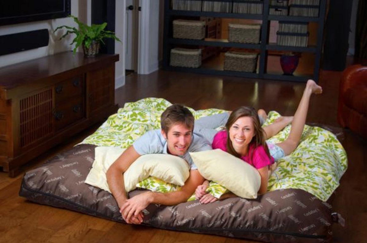 That Shark Tank Bean Bag Chair That Turns Into A Bed Is On Major