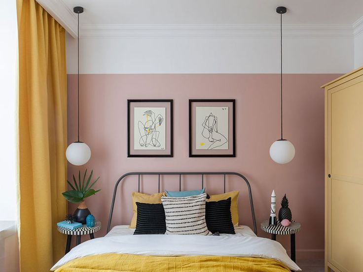 〚 Colorful rental apartment in Moscow (50 sqm) 〛 ◾ Фото ◾Идеи◾ Дизайн