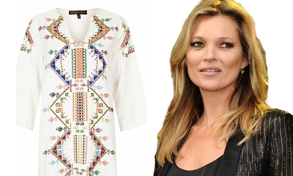 Kate Moss' range for Topshop drops online http://dailym.ai/R1J5Na