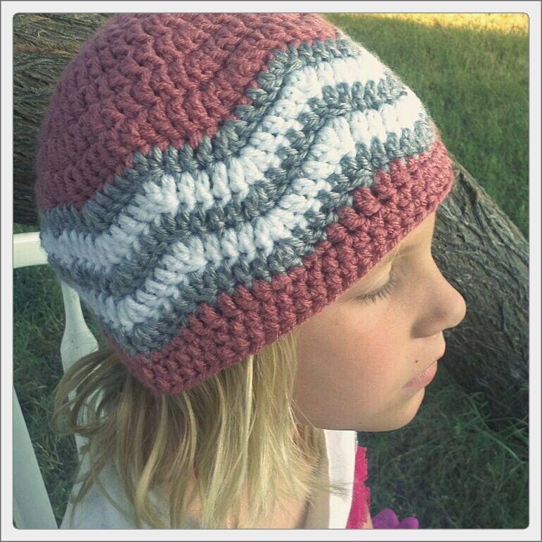 Love Handmade Crochet Chevron Beanie Crochet Hats Crochet