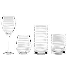 image of kate spade new york Charlotte Street™ Stemware Collection in White