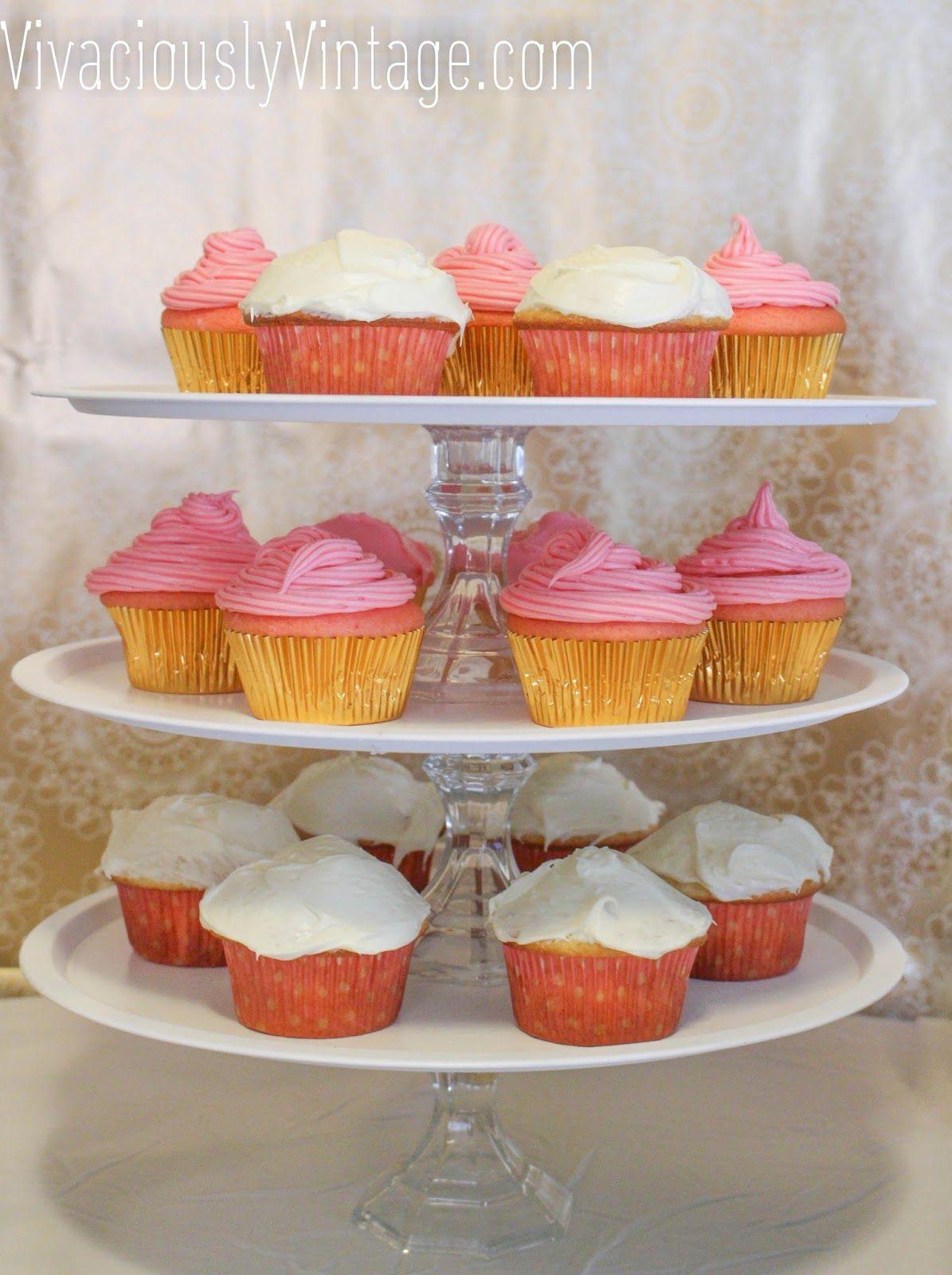 DIY 3 Tier Stand {Cupcake Stand, Coffee Station, Cake ...