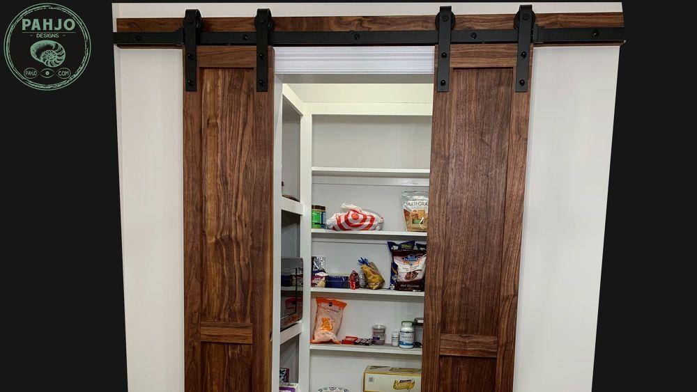 How to build easy diy pantry barn doors barn doors