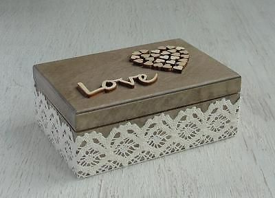Wedding Ring Box Personalized Bearer Pillow Alternative