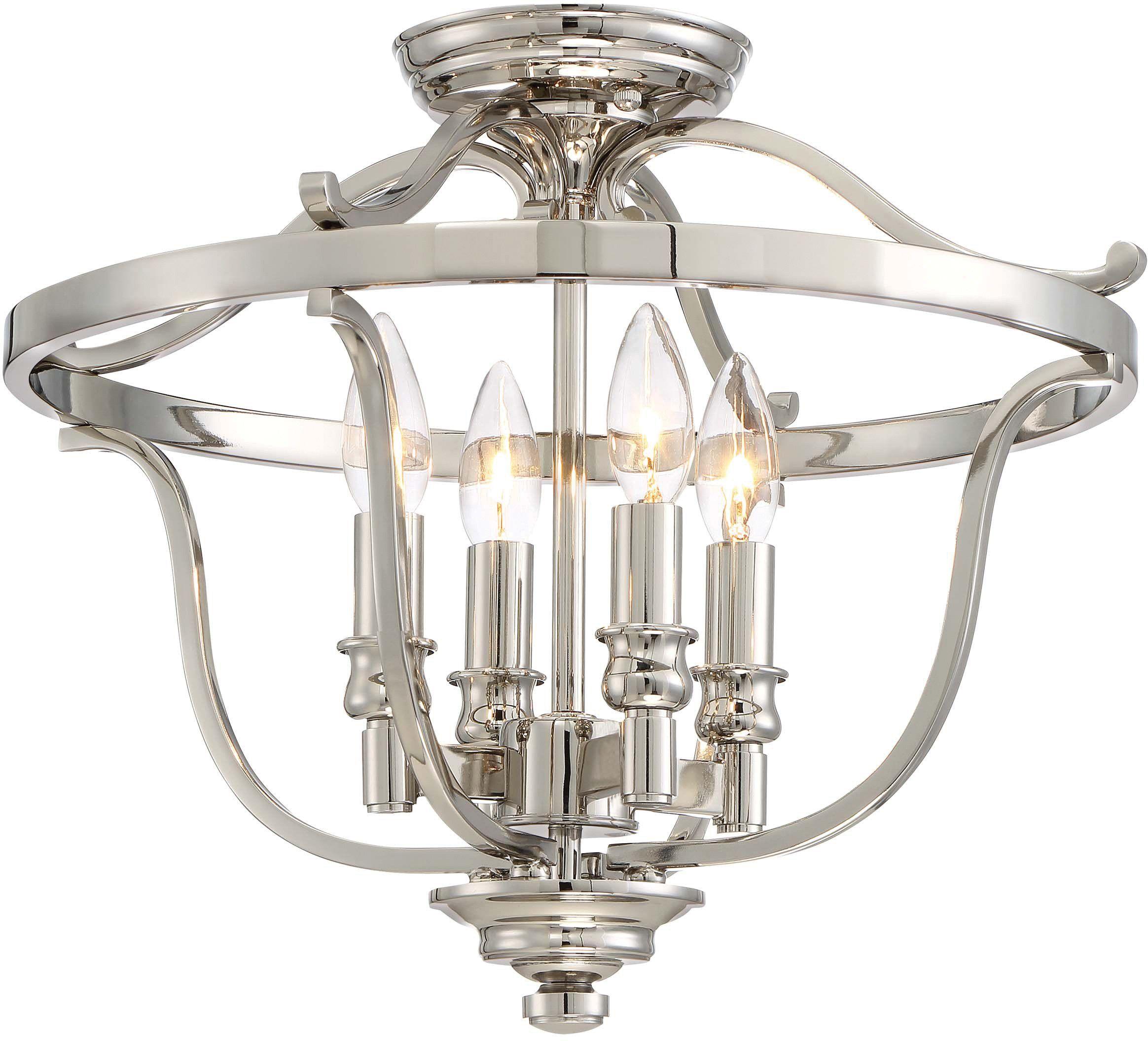 Minka Lavery Semi Flush Mount Ceiling Light 3296 613 Audrey S