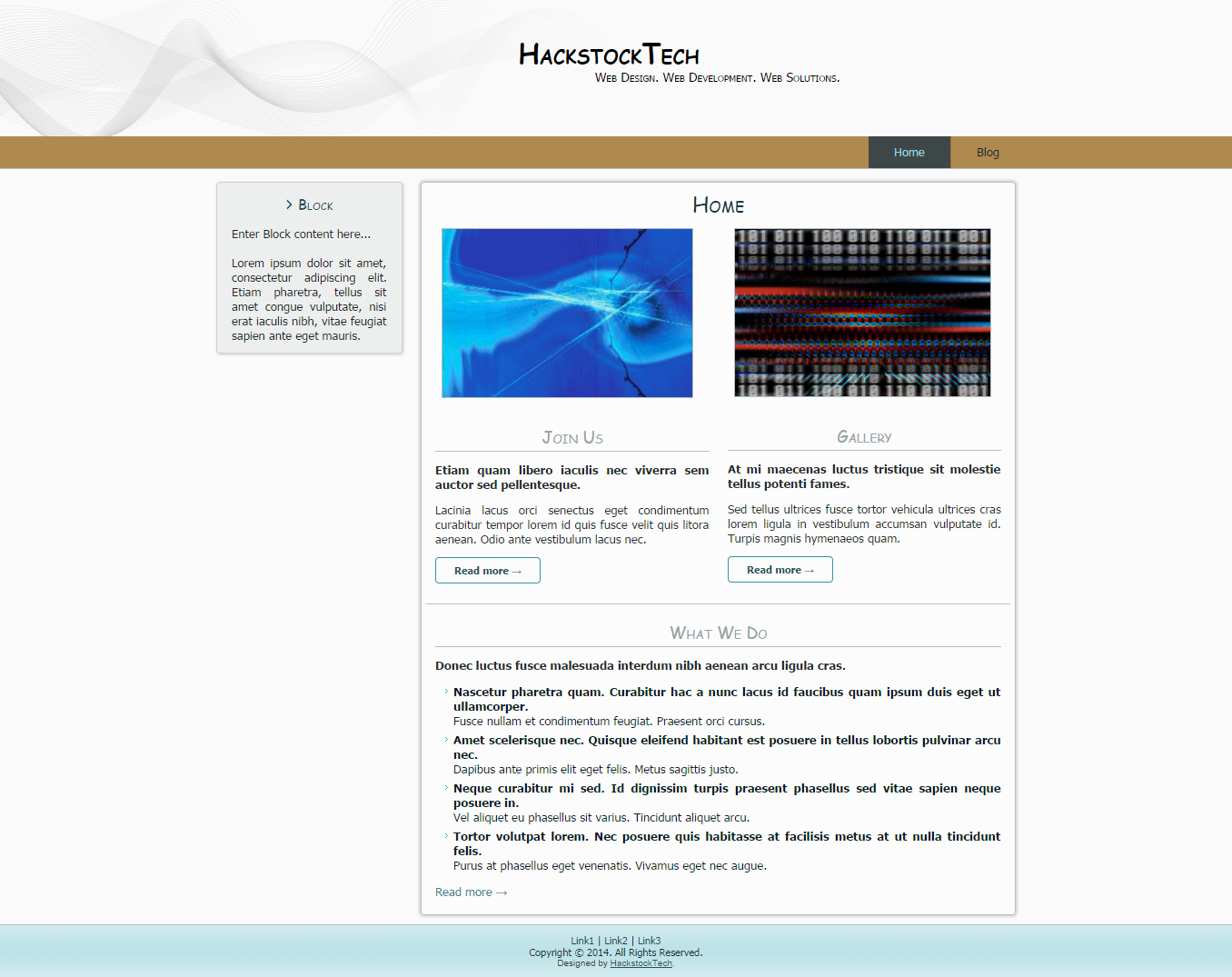 Simple Fun Business | HackstockTech | Web Design | Themes, templates ...