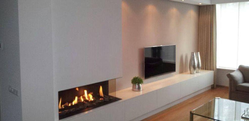 plaats haard kachel en tv naast elkaar en niet tegenover of haaks t o je wilt toch. Black Bedroom Furniture Sets. Home Design Ideas