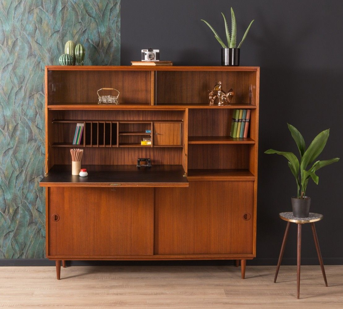For Sale German Secretary Desk By Musterring From The 1950s House Furniture Design Mid Century Modern Furniture Havenly Dining Room