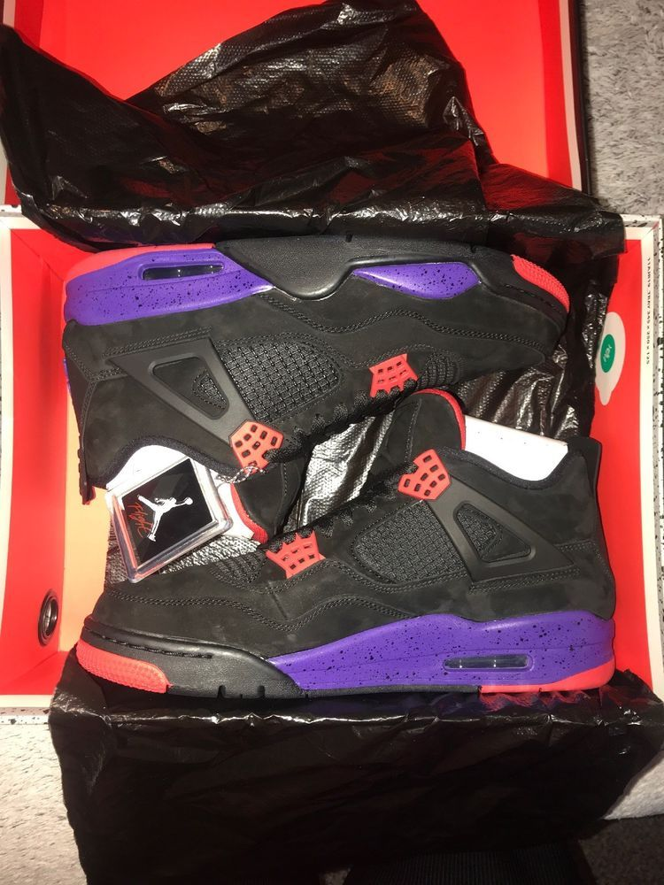 Air Jordan 4 Retro NRG Raptors Mens New Size 11  fashion  clothing  shoes   accessories  mensshoes  athleticshoes (ebay link) ecd34e367