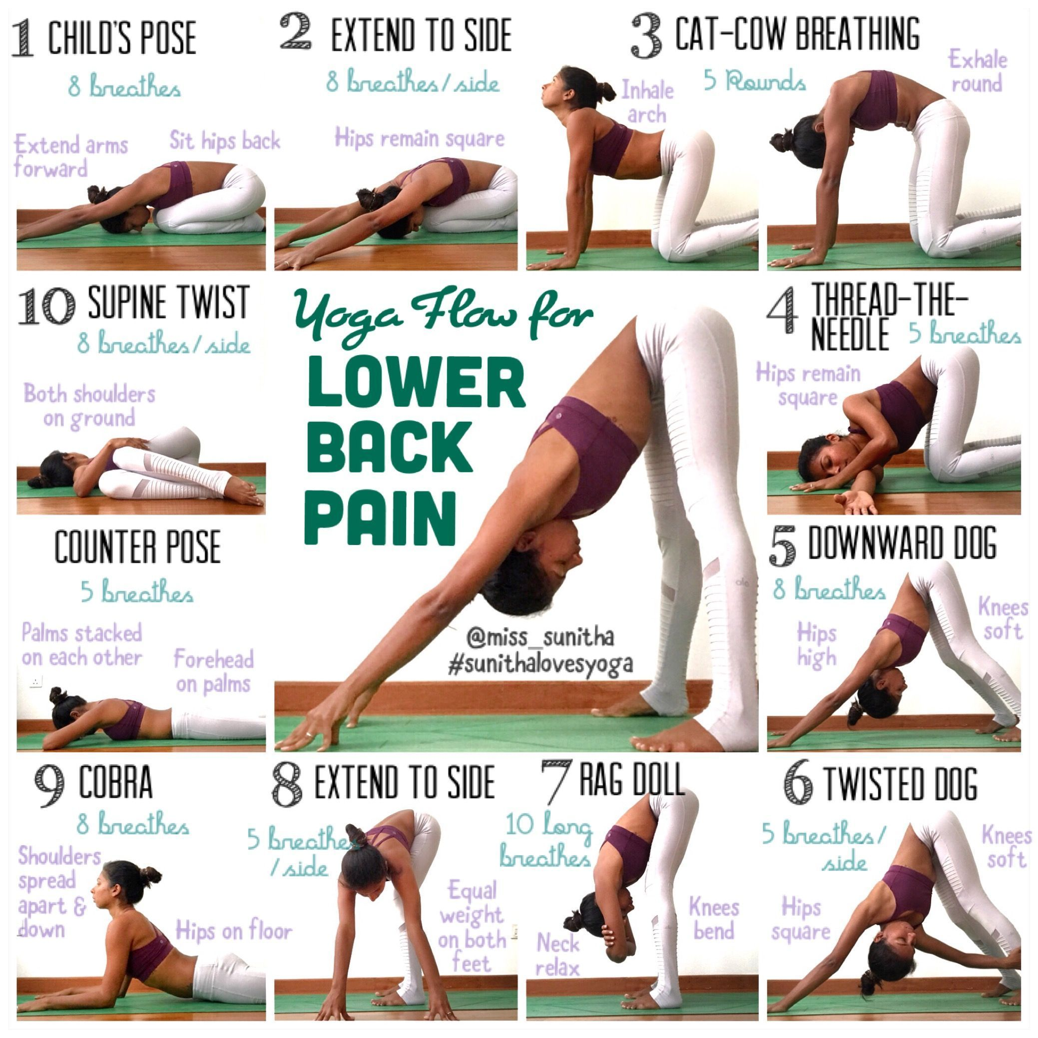 Easy Yoga Poses For Bad Back