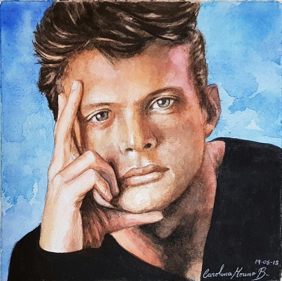 Luis Miguel Portrait Male Sketch Portrait Tattoo