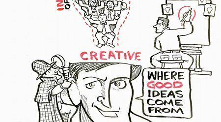 """¿Se puede desarrollar la creatividad? ¿O sencillamente uno es o no es creativo? ¿Se trata de esperar el """"momento de inspiración""""? Hay muchos factores que pueden influir en la creatividad: el lugar, los hábitos, la concentración, quiénes nos rodean y cómo estamos conectados, el esfuerzo y el tiempo de trabajo (intentarlo, intentarlo e intentarlo una vez más)."""