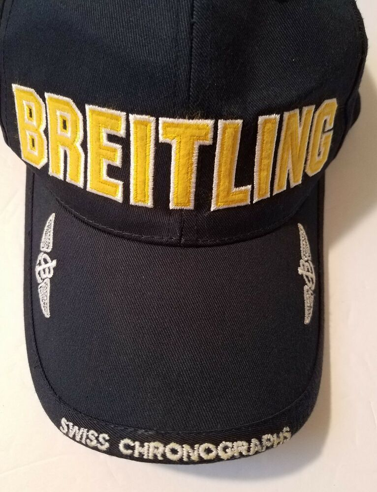 da2c25fed Breitling Watches Snapback Cap Swiss Cronographs w / Anchor Navy ...