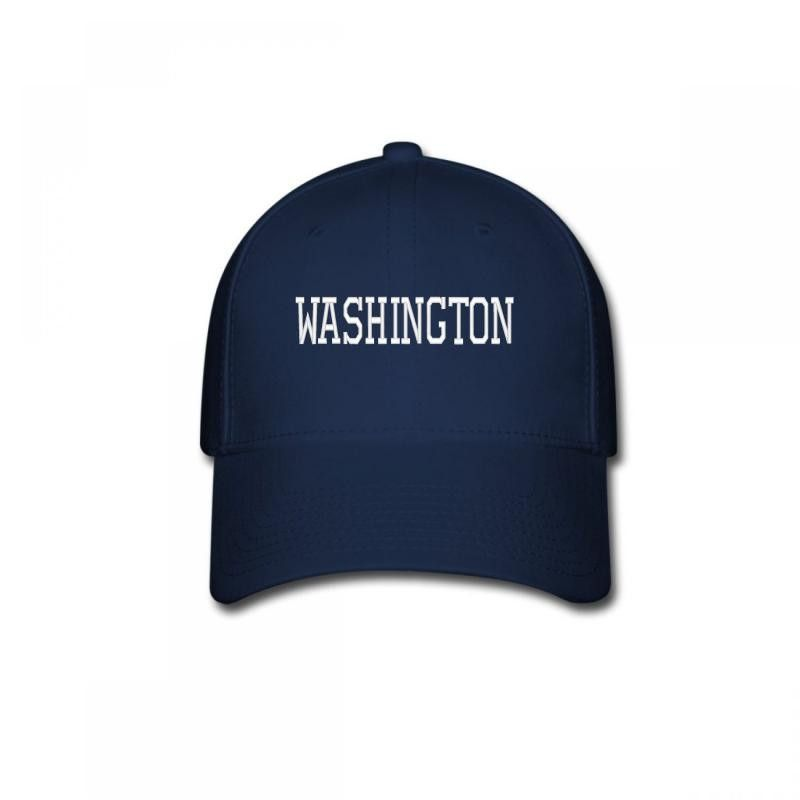 WASHINGTON embroidery Baseball Cap