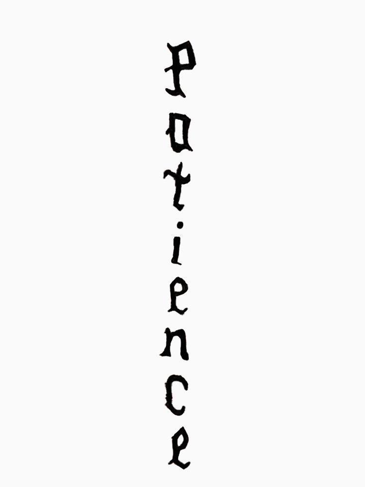 Justin Bieber S Patience Patience Tattoo Justin Bieber Neck
