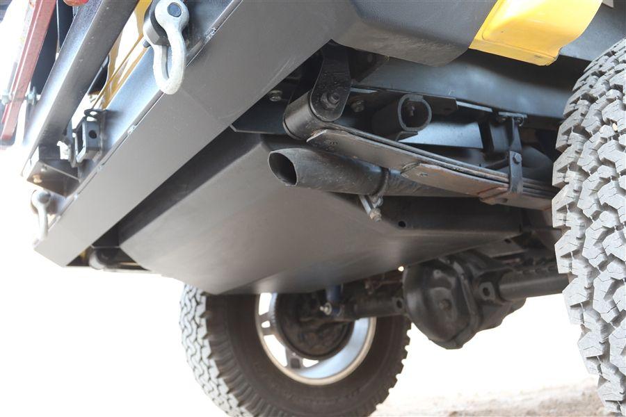 Rock Hard 4x4 Gas Fuel Tank Skid Plate For Jeep Cherokee Xj 1984