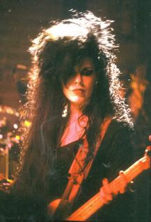 Patricia Morrison of The Gun Club and Sisters Of Mercy.